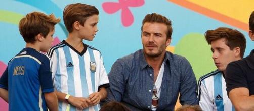 L'ancienne gloire de Manchester United, David Beckham aimerait faire venir Messi à l'Inter Miami (Credit : capture Youtube)