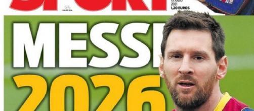 La Une espagnole du quotidien Sport a fait fort ce jeudi 15 juillet 2021 (Credit : Sport)