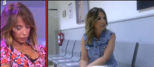 Laura se fue del plató y Jorge Javier la siguió para lograr que se calme (Telecinco)