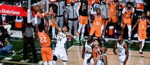 Phoenix Suns contro Milwaukee Bucks: le Nba Finals 2021.