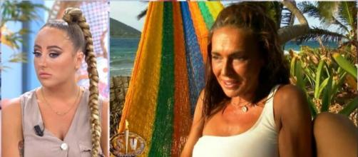 Rocío Flores se ha mostrado tajante al hablar de la relación que tiene con Olga y con Fidel (Imagen: telecinco.es)