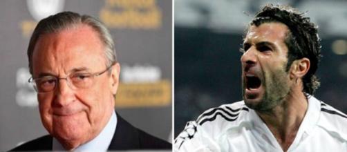 Florentino Pérez et Luis Figo photos capture d'écran Instagram