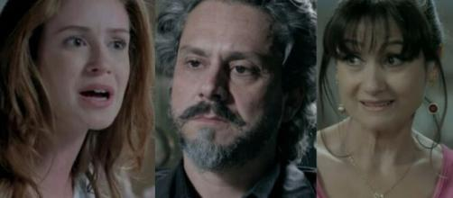 Ísis, Alfredo e Magnólia em 'Império' (Fotomongatem/Reprodução/TV Globo)