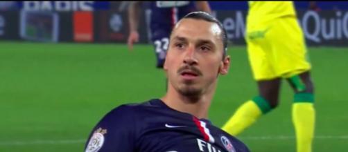 Photo Ibrahimovic capture d'écran vidéo YouTube