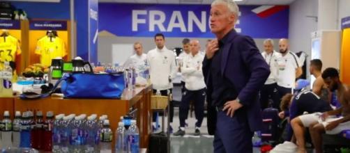 Didier Deschamps et la colère du vestiaire - Photo capture d'écran vidéo Youtube