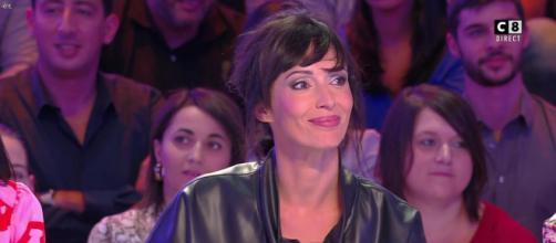 Géraldine Maillet dans l'émission emblématique TPMP. Source : capture d'écran C8.