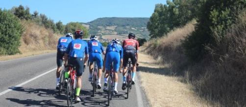 Settimana Ciclistica Italiana, Masnada costretto al ritiro dopo una caduta.