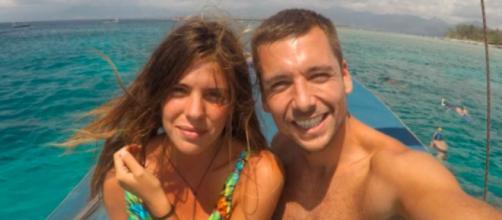 Ahora Laura Matamoros disfruta de unas vacaciones en Ibiza (Instagram @benjiaparicio)