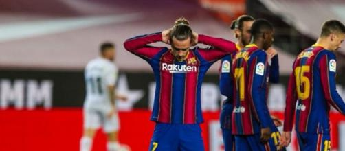 Antoine Griezmann au FC Barcelone, cela sent la fin (Credit : Twitter Antoine Griezmann)