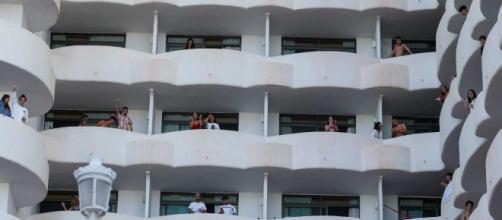 Daños en el Hotel Bellver de Mallorca (RTVE)