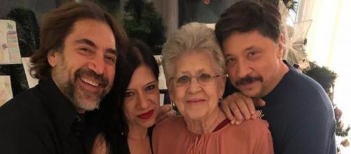 Javier, Mónica, Pilar y Carlos Bardem (Instagram: @carlosbardemoficial)