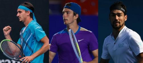 Lorenzo Sonego, Lorenzo Musetti e Fabio Fognini, sogni di medaglia alle Olimpiadi di Tokyo.