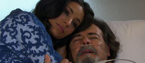 Alessandro morre de infarto em 'Coração Indomável' (Reprodução/Televisa)