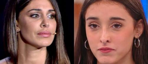 Belen Rodriguez al timone di Tu sì que vales: Giulia di Amici nel backstage per Witty Tv.