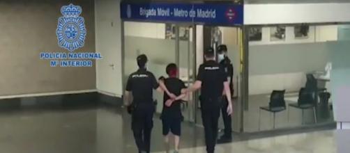 El presunto agresor del metro de Madrid ya ha sido detenido. (Policía Nacional)