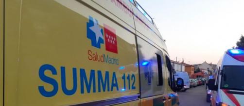 El servicio del Summa-112 intentó reanimar al niño durante 50 minutos (@112cmadrid)
