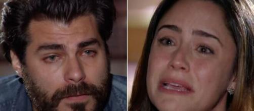 Lúcio e Ana em 'A Vida da Gente' (Fotomontagem/Reprodução/TV Globo)