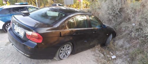 El conductor dejó a su hijo en una rotonda e intentó escapar (Fuente: @mossos)