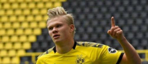 Erling Haaland piacerebbe alla Juventus.