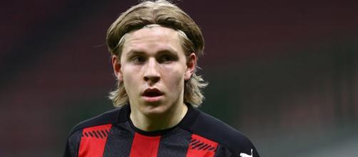 Hague, attaccante norvegese del Milan.