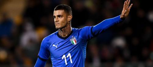 Inter, idea Scamacca come vice Lukaku.