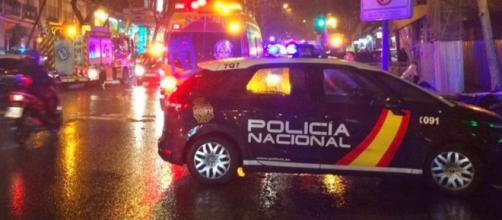 La Policía Nacional fue la encargada de ejecutar el desahucio contra Cruz y su familia (Twitter, policia)
