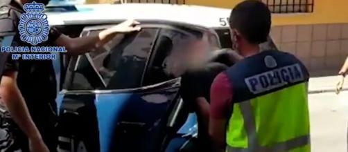 Nuevos datos sobre el detenido por la agresión en el Metro (Policía Nacional)