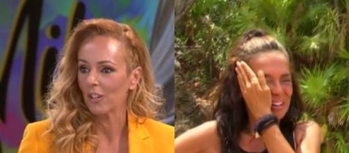 Rocío Carrasco se ha mostrado fría ante las lágrimas de Olga Moreno - (Telecinco)
