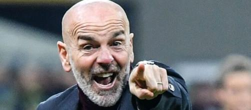 Stefano Pioli, allenatore del Milan.