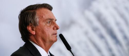 'Vamos apresentar uma fraude de 2014, segundo turno de 2014', disse Bolsonaro (Alan Santos/PR)