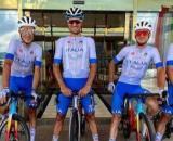 La nazionale di ciclismo alle Olimpiadi di Tokyo 2020.
