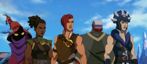 A animação 'Mestres do Universo: Salvando Eternia' mostra mulheres como protagonistas (Divulgação/Netflix)