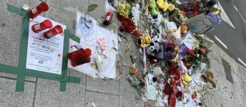Altar de Samuel Luiz, destrozado. (RRSS)