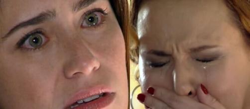 Ana e Eva em 'A Vida da Gente'. (Fotomontagem)