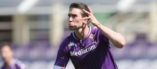 Fiorentina, Vlahovic titolare in attacco.