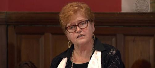 If confirmed by Senate, Deborah Lipstadt will be the U.S. Special Envoy to Monitor and Combat Anti-Semitism (Image source: Oxford Union/YouTube)