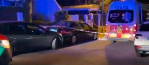 La Policía y el Summa-112 se trasladaron al lugar de los hechos (Twitter 112cmadrid)