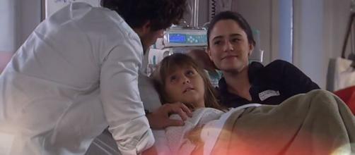 Rodrigo, Júlia e Ana em 'A Vida da Gente'. (Reprodução/TV Globo)