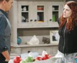 Beautiful, trame 25 e 26 luglio: Sally cerca di sedurre Wyatt per passare una notte di passione con lui.
