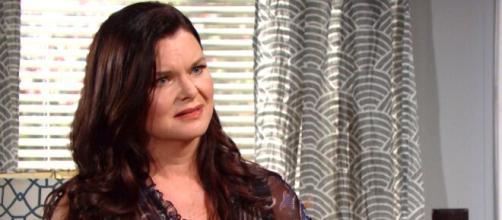 Beautiful, trame Usa: Katie furiosa con Sally dopo aver scoperto che ha finto la malattia.