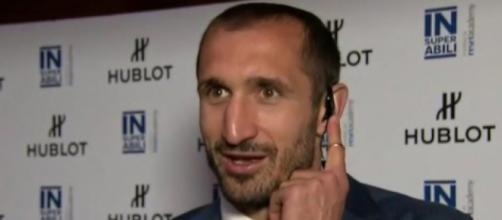 Giorgio Chiellini, difensore della Juventus.