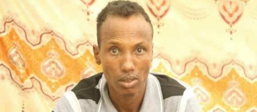 Hussein Adan Ali, el condenado a muerte, en imagen (Captura Televisión Pública Somalí)