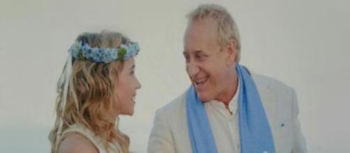 Josep Maria Maniat y Angela Dobrowolski no han conseguido firmar su acuerdo de divorcio (@abc_es / Twitter)