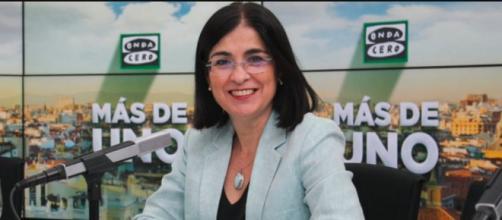 La ministra de Sanidad ha dicho que existen comunidades autónomas que han hecho un trabajo excelente de vacunación. (Twitter, MasDeUno)