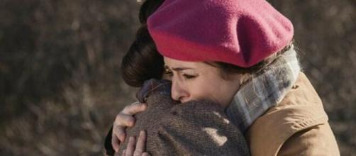Una vita, puntata serale del 24 luglio: Maite dice addio a Camino.