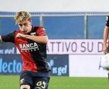 Nicolò Rovella, con la maglia del Genoa.