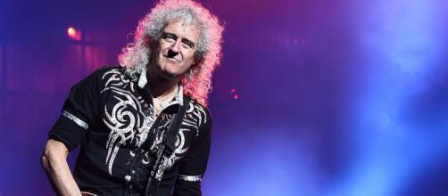 Brian May chitarrista dei Queen. La sua band è tra le più ricche del 2020