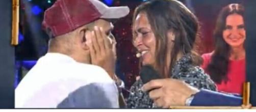 Olga Moreno se encuentra con David Flores (Mediaset)