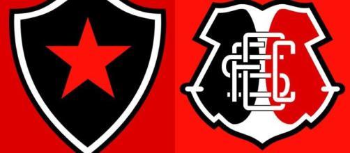 Saiba onde assistir Botafogo PB x Santa Cruz ao vivo (Arte/Eduardo Gouvea)