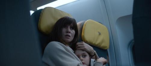 Cena do filme de terror 'Céu Vermelho-Sangue' da Netflix (Arquivo Blasting News)